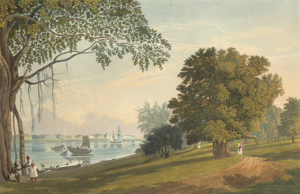 A view of Serampore Artist: Fraser, James Baillie 1826